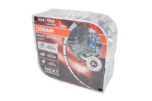 КРУШКА H4 OSRAM Night Breaker®Laser +150% К-Т